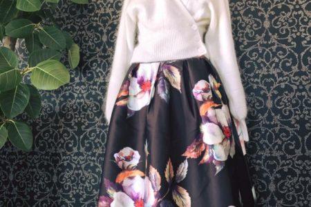 【 ボリュームスカートで華やかに♫ 】